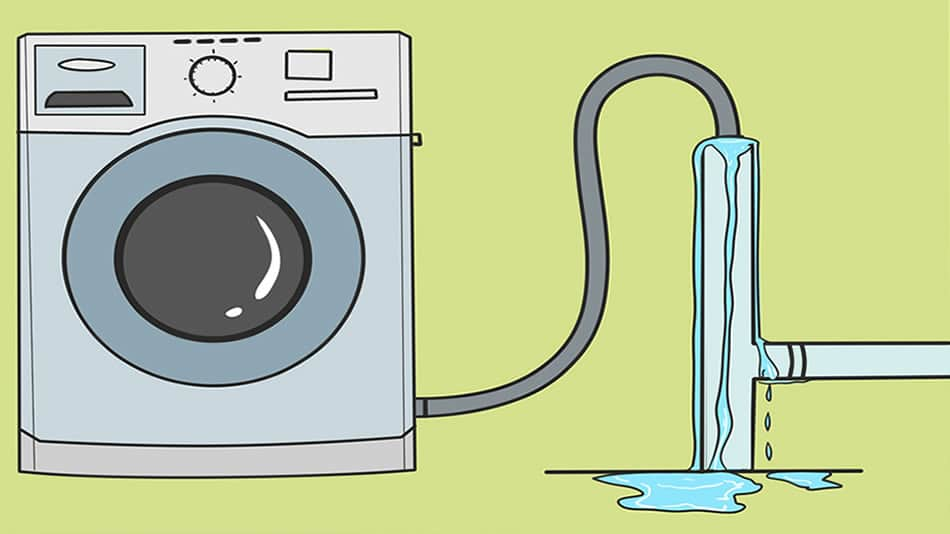 Washing Machine Causes Drain To Overflow Basement Issues And Problems